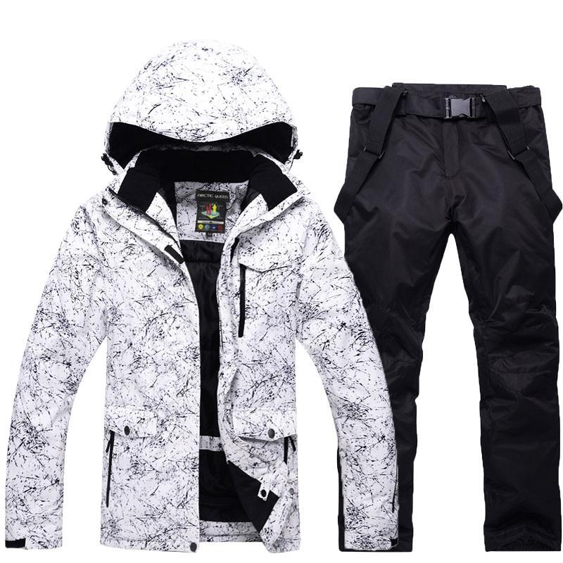Men or Women Snow Jackets Snowboarding sets Winter Outdoor Sports ski wear Waterproof Thicken -30 Warm Costume jackets and pants
