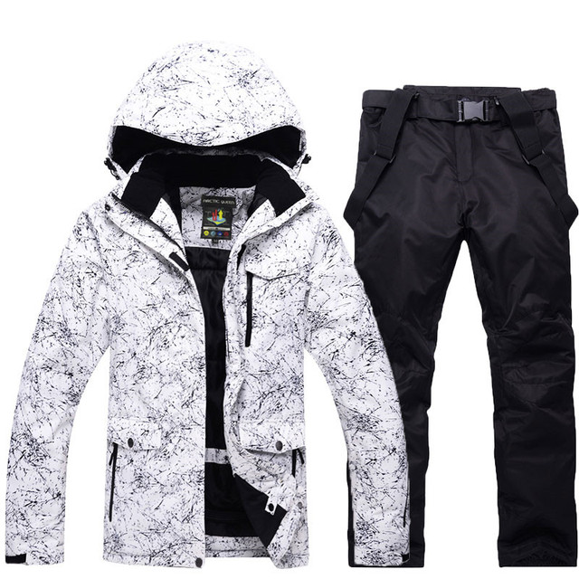Men or Women Snow Jackets Snowboarding sets Winter Outdoor Sports ski wear  Waterproof Thicken -30 Warm Costume jackets and pants 41faeba68