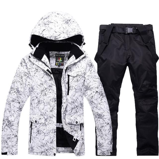 Men or Women Snow Jackets Snowboarding sets Winter Outdoor Sports ski wear  Waterproof Thicken -30 Warm Costume jackets and pants 41faeba68