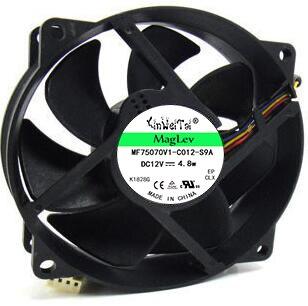 2 voor SUNON KDE1209PTVX, 13. MS. b2623.AF. GN DC 12V 4.4W 4-wire 4-pin 110mm 92x92x25mm server Ronde koelventilator