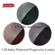 1.50 Index Polarized UV 400 Myopia Sunglasses Multifocal Prescription Optical Progressive Lenses
