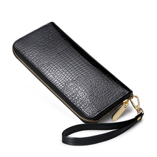 Women Wallets Leather Hasp Long Casual Clutch Wallet Female Fashion Price Alligator lady Wallets and High Quality Purses HB0064