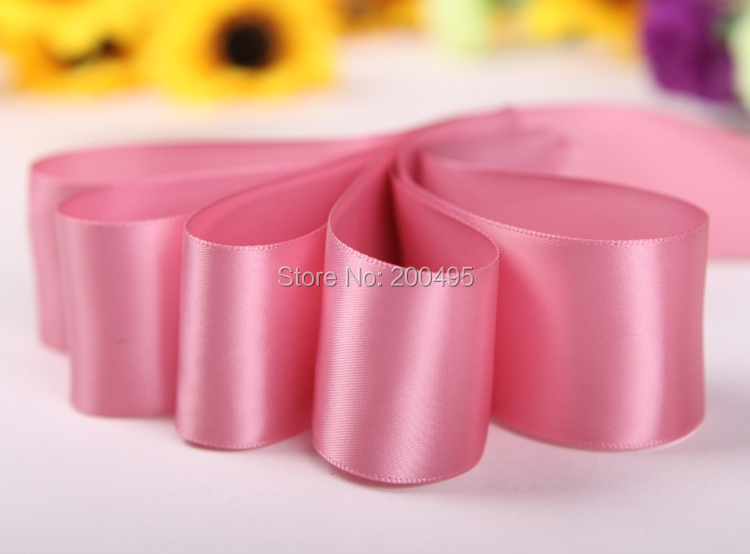 """[IuBuFiGo] 1-1/""""(38 мм) Одиночный рулон атласной ленты упаковочная лента 100 ярдов/лот> 100 Цвет"""