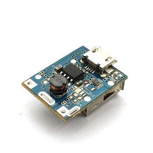 Image 4 - 1 Pcs 5V Step Up Power Module Lithium Battery Charging Protection Board Boost Converter LED Display USB For DIY Charger 134N3P