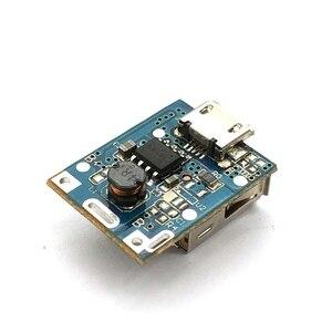 Image 4 - 1 Uds. Módulo de alimentación de 5V de aumento Placa de protección de carga de batería de litio Boost Converter pantalla LED USB para cargador DIY 134N3P
