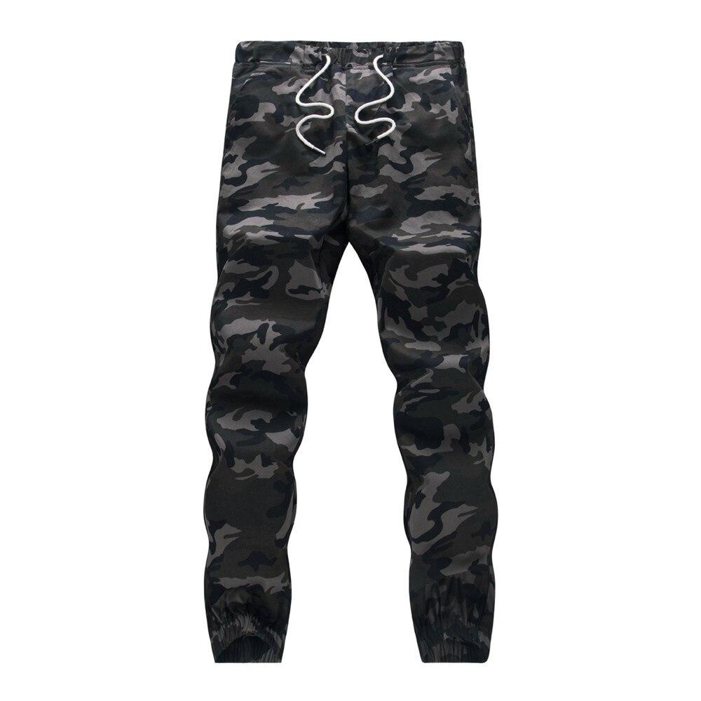Harem Pants Cargo-Trousers Camo Joggers Loose Autumn Pencil Comfortable Men