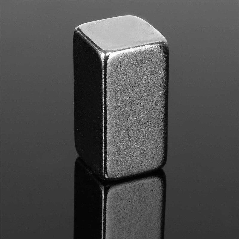 1PC Super Strong Block Magnet Rare Earth Neodymium Craft Fridge Neodymium Magnet Permanent Magnet N3 20 x 10 x 10mm 1pcs 60x40x3 60mm 40mm 3mm magnets block neodymium n50 rare earth super strong fridge magnet 60 40 3 60mm x 40mm x 3mm