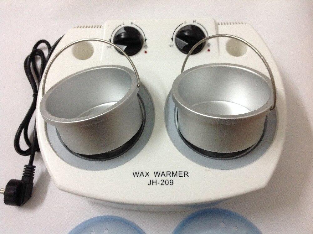 Haar Entfernung Maschine 120 W 110 V/220 240 V 50/60 HZ Zwei Topf thermostat Epilierer schmerzlos Paraffin Wachs Hand Pflege Make Up Tools - 5