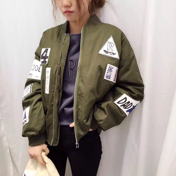 Popular Women Oversized Baseball Jacket-Buy Cheap Women Oversized ...