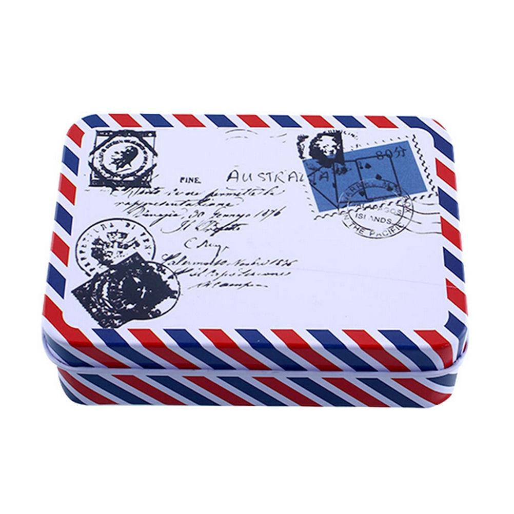 Mini Storage Decoration Collection-Display Candy Metal Vintage Cartoon Pill-Chutty 9--6.5--2.8cm