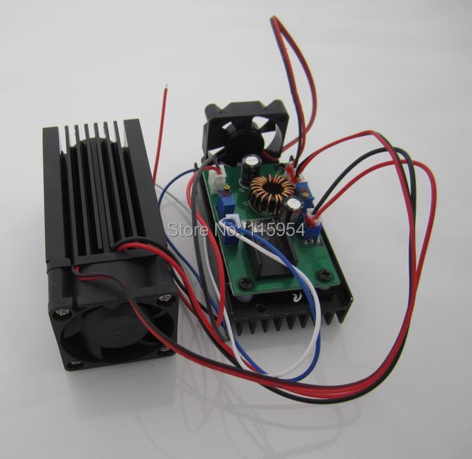 PRAVO NOVO 3500mw / 3.5w 445 modra oderna luč RGB laserski modul / - Komercialna razsvetljava - Fotografija 2