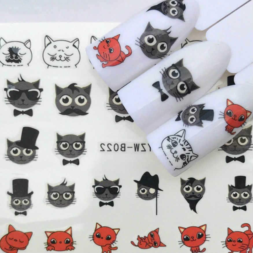 حار بيع قبعة القط أظافر صناعية نصائح اللون بطاقة الممارسة عرض أدوات شفافة الأبيض مشبك حلقة مانيكير مسمار أداة فنية #19
