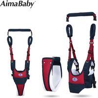 Removable Baby Walker Assistant Toddler Leash Kids Walking Baby Belt Child Safety Harness Leash Infant Baby