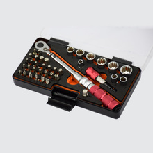 "High quality Mini torque wrench set 1-10NM 1/4""DR Bike Bicycle repair tools kit ratchet machanical torque spanner manual"