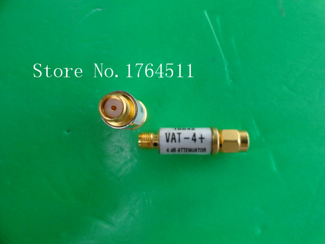 [BELLA] MINI VAT-4 DC-6GHz 4dB 2W SMA Coaxial Fixed Attenuator  --5PCS/LOT