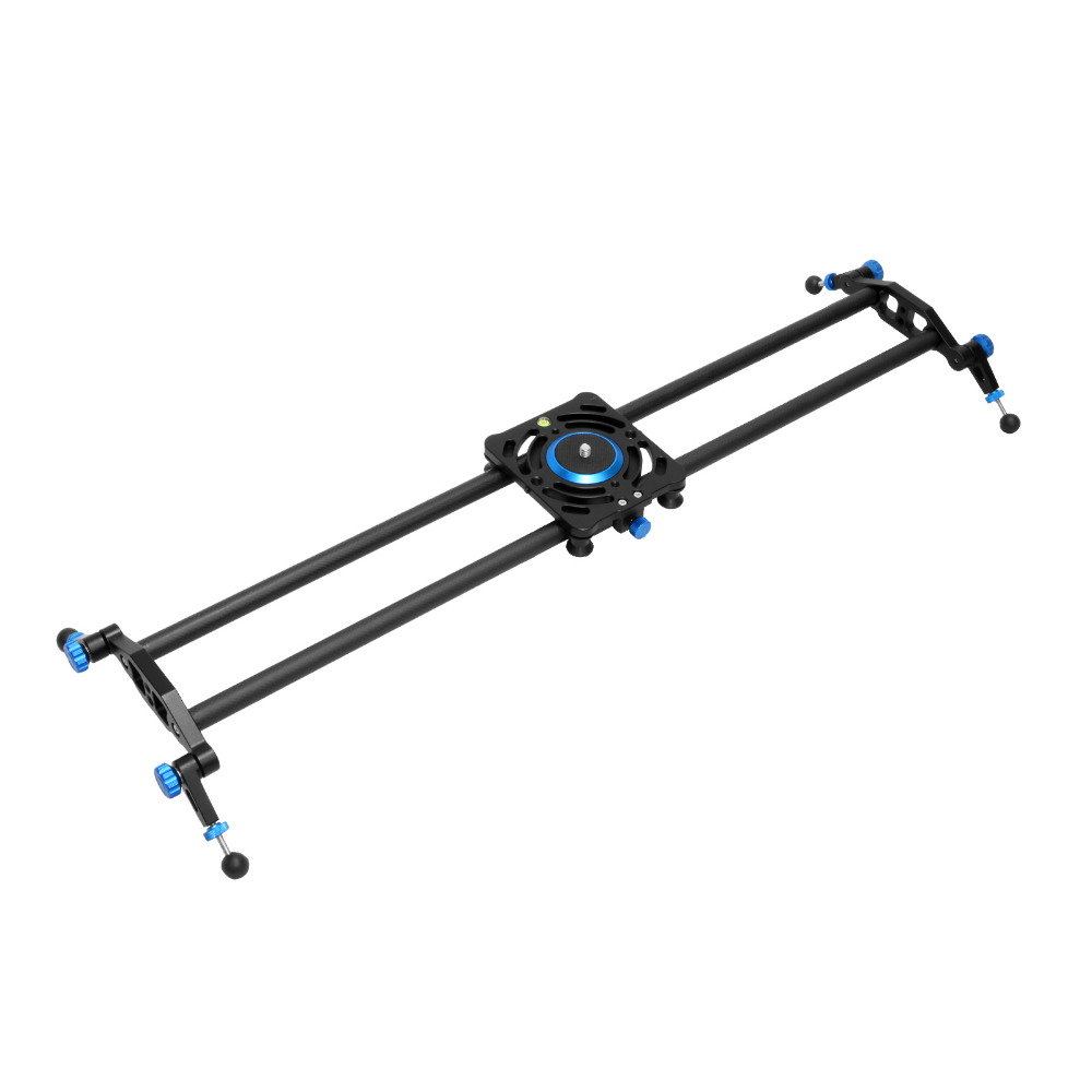 80cm Aluminum Alloy+Carbon Fiber Max Load 10Kg Dolly Slider Track Rail Stabilizer Video DSLR DV Camera System Rail цена
