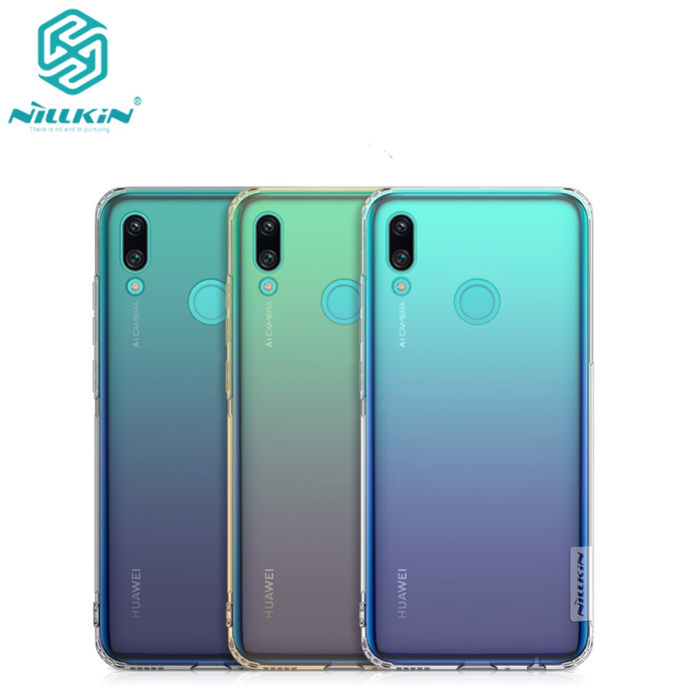 10pcs lot Phone case For Huawei P Smart 2019 Cover Nillkin Nature TPU Soft Cover Case