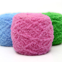 Coral fleece yarn towel yarn scarf thick baby cashmere yarn wholesale knitting specials DIY knitting weaving wools