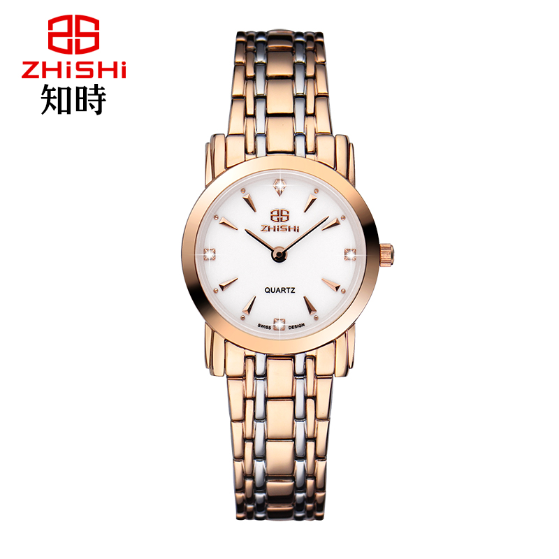 Luxury Brand Women Rose Gold Watch Sapphire Crystal Fashion Ladies Quartz Watch 5ATM relogio feminino