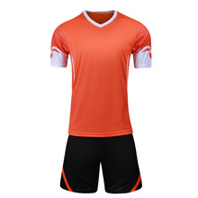 Men kids Boys Girls Child training suit football 2017 jerseys kit sports soccer jerseys tennis shirts shorts maillot de foot DIY
