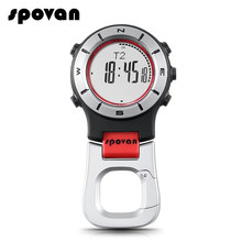 3c741293c18d SPOVAN reloj altímetro barómetro brújula reloj de bolsillo hombres relojes  deportivos LED pesca senderismo escalada relojes