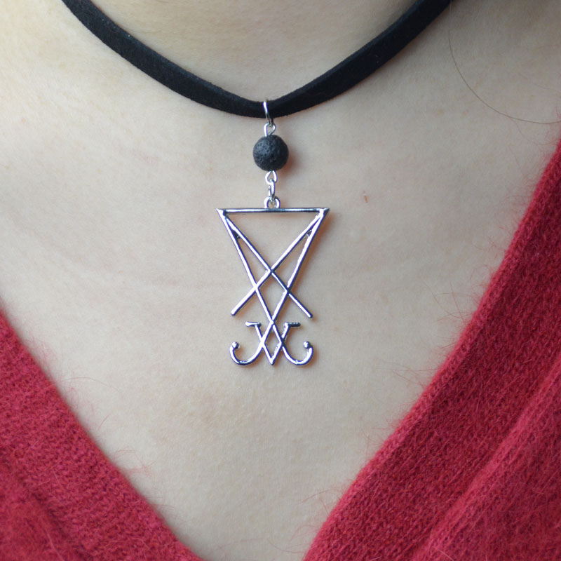Silver goddess necklace wiccan pagan witch spiritual pendant alternative occult
