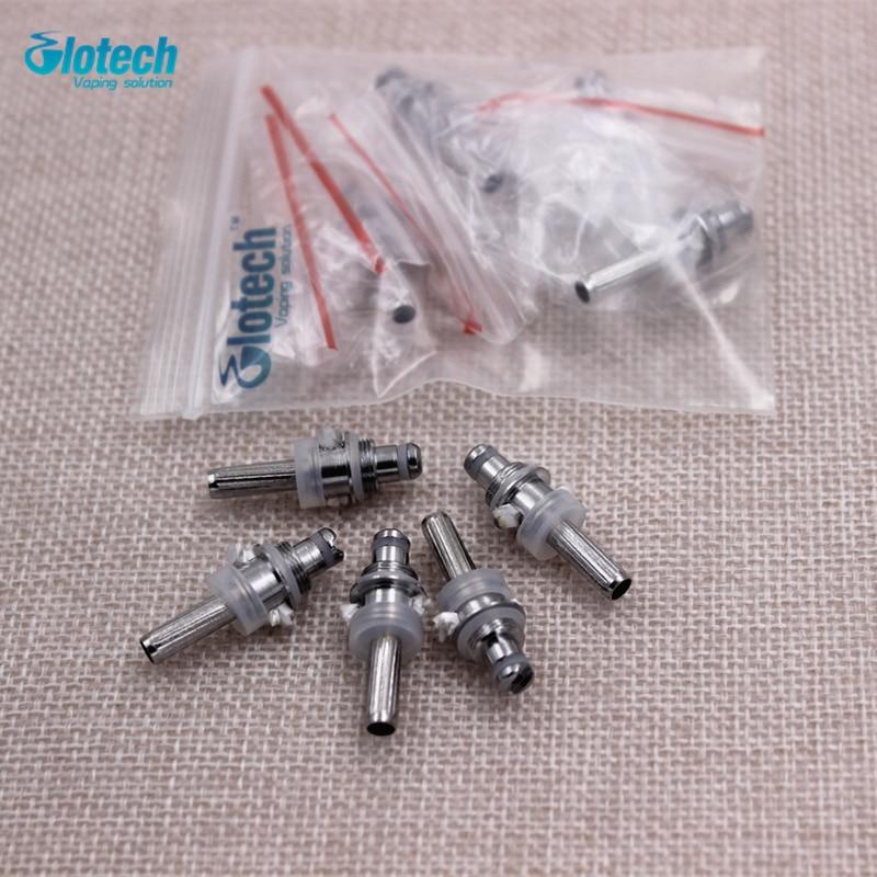 Glotech 5Pcs/lot Electronic Cigarette Mt3 Coils Wicks Suit MT3 H2 T3S T4 Replaceable Atomizer Coil EVOD kits Vaporizer Core цена
