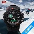 Новый TTLIFE Бренд Популярным Reloj Hombre Спортивные Часы Мужской Моды Военные Часы Армии Водонепроницаемый Большой Циферблат Наручные Часы