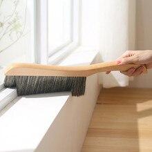 Household Dusting Cleaning Brush Practical Wooden Handle Multi - Functional Car Duster Window Tools