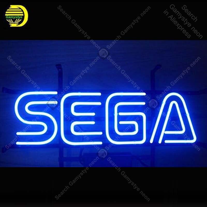 Неоновая вывеска для игровой комнаты Sega, пивной бар, неоновый знак ручной работы, рекламная вывеска, Мужская неоновая вывеска в виде пещеры,