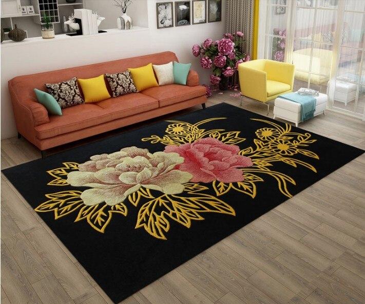 Laine carepts japon style sculpté tapis pour chevet couloir chambre salon allée lecture marque antidérapant 100% laine tapis