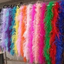 Naujiena! 1 vnt gana stručio plunksnas šalikas, 2 metrai ilgio, naudojamas: vestuvės, vakarėliai, namų tobulinimas, kaklaskarės