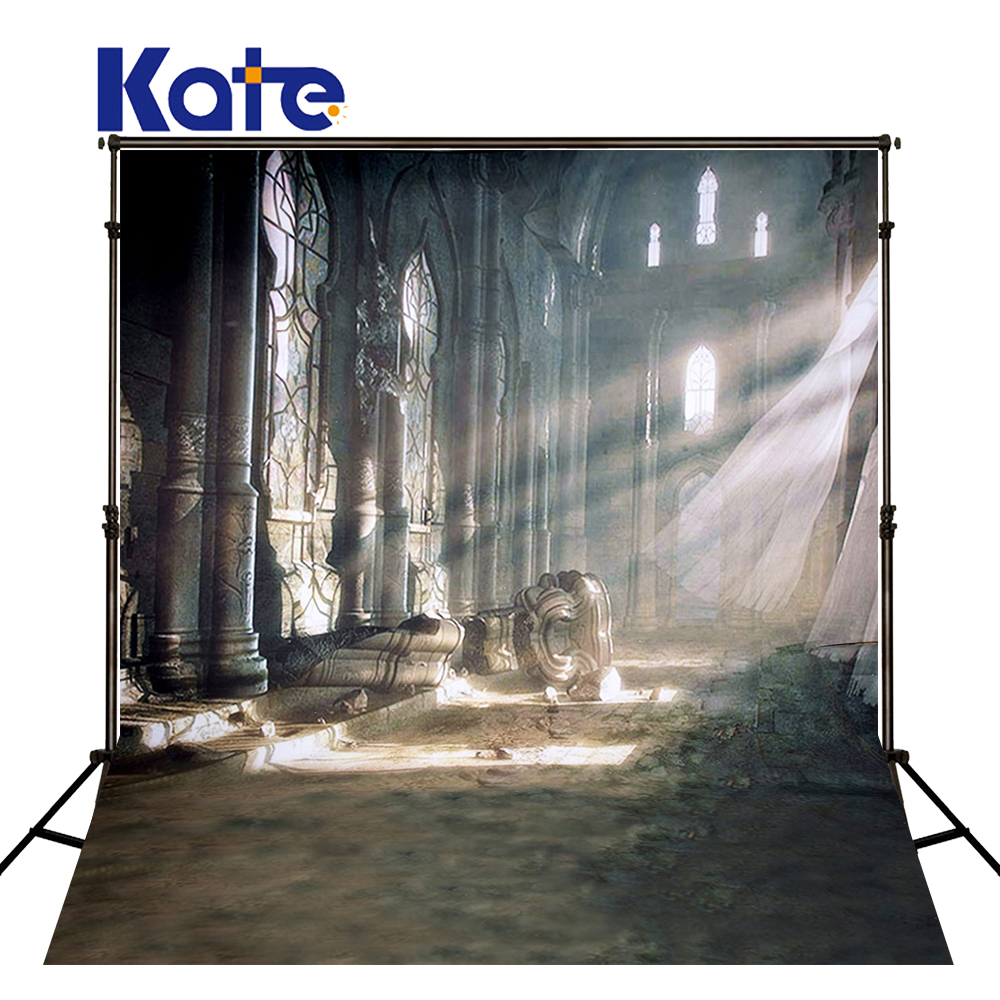300Cm*200Cm(About 10Ft*6.5Ft) Fundo Curtain Sunshine Ruins3D Baby Photography Backdrop Background Lk 1858