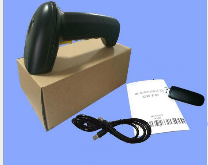 Оптовая продажа 1D 433 лазерный Беспроводной сканера штриховых кодов поддерживает