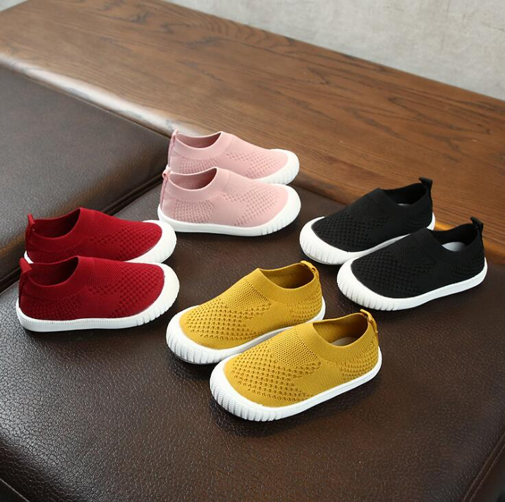 New High Quality Spring/Autumn baby first walkers breathable fashion baby toddlers hot sales girls boys sneakers shoes