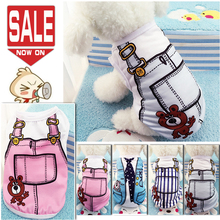Cute Soft Dog Clothes for Small Dogs Summer Clothing Coat Vest Puppy Pet Yorkies Chihuahua Hoodies XS 2018