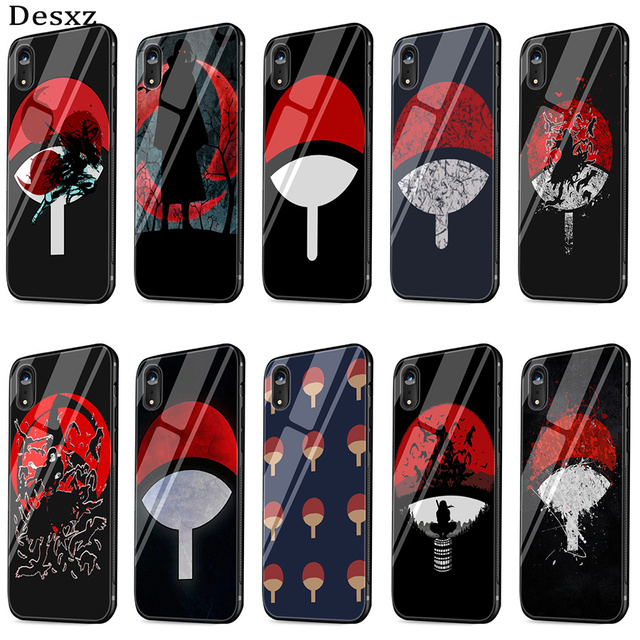 Tempered Glass Phone Case Naruto Shippuden for iPhone
