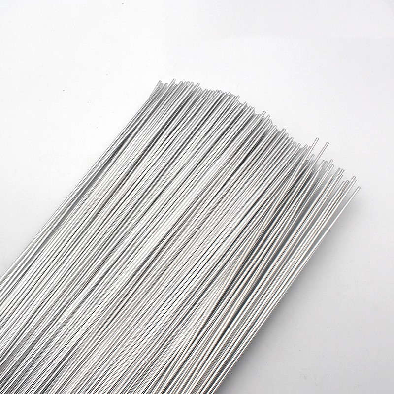 Aluminum Welding Rods WE53 Flux Cored Low Temperature Brazing Wire 500x2.0mm 19.68x0.079 50pcs All Kind of Aluminum Repairing 1kg refrigeration accessories aluminum aluminum welding rod welding wire flux cored wire dia2 0 for repairing air condition part