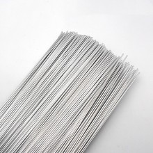 "Aluminum Welding Rods WE53 Flux Cored Low Temperature Brazing Wire 500x2.0mm 19.68x0.079"" 50pcs All Kind of Aluminum Repairing(China)"