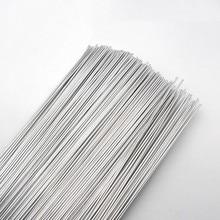 Low Temperature Aluminum Brazing Rods Flux Cored Gas Welding Wire 500x2.0mm Aluminum Repairing Material Gas Soldering Rods