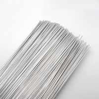 """Varillas de soldadura de aluminio WE53 flujo Cored Alambre de soldadura de baja temperatura 500x2,0mm 19,68x0.079 """"todo tipo de aluminio de reparación"""