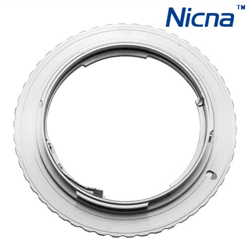 FOTGA Adapter Ring for Contax Lens to Canon EOS EF wholesale sliver brass offer OEM FREE SHIPPING