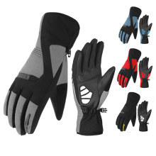 Winter Gloves Outdoor Cycling Men Waterproof, Warm, Thermal, Thick, Long Finger MTB Bike Bicycle Women