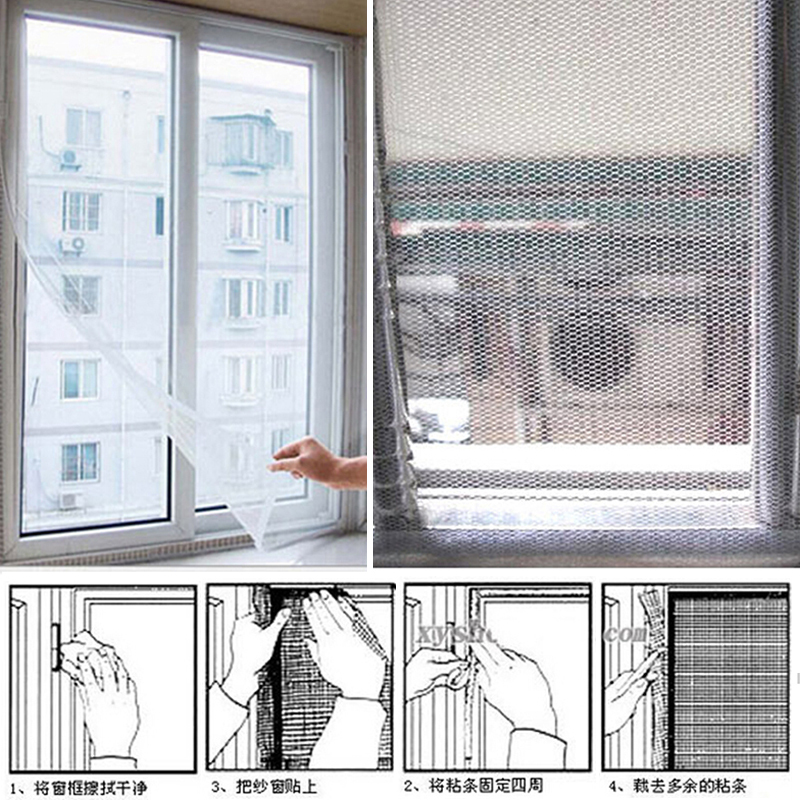 New insect fly mosquito window net netting mesh screen for Screen new window