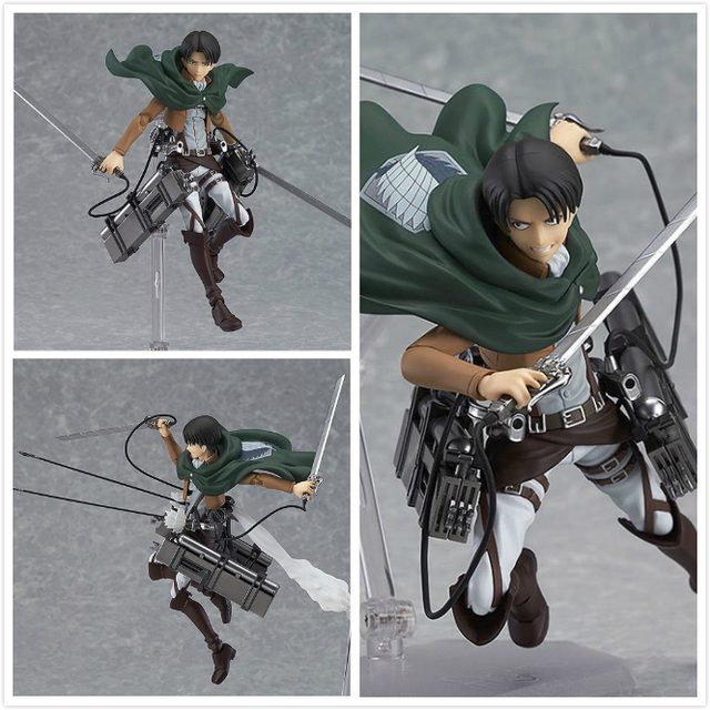 Attack on Titan PVC Anime Action Figure Model Toy