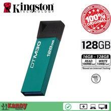 10pcs Kingston DTM30 Mini USB 3.0 flash pen drive 16GB 32GB 64GB 128GB key gameMac cle usb stick the flash bellek personalizado