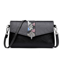 Lady Floral Envelope Casual Small Bag for Women Messenger Bags for Women Shoulder Bags Crossbody Black Clutch Purse and Handbag new 2017 black shell plaid fashion women crossbody bag female shoulder bags party purse clutch small bag women messenger bags