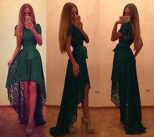 Lady Hanım Giyim Elbiseler Yaz Seksi Vintage Resmi Dantel Uzun Maxi Elbise Parti Elbise