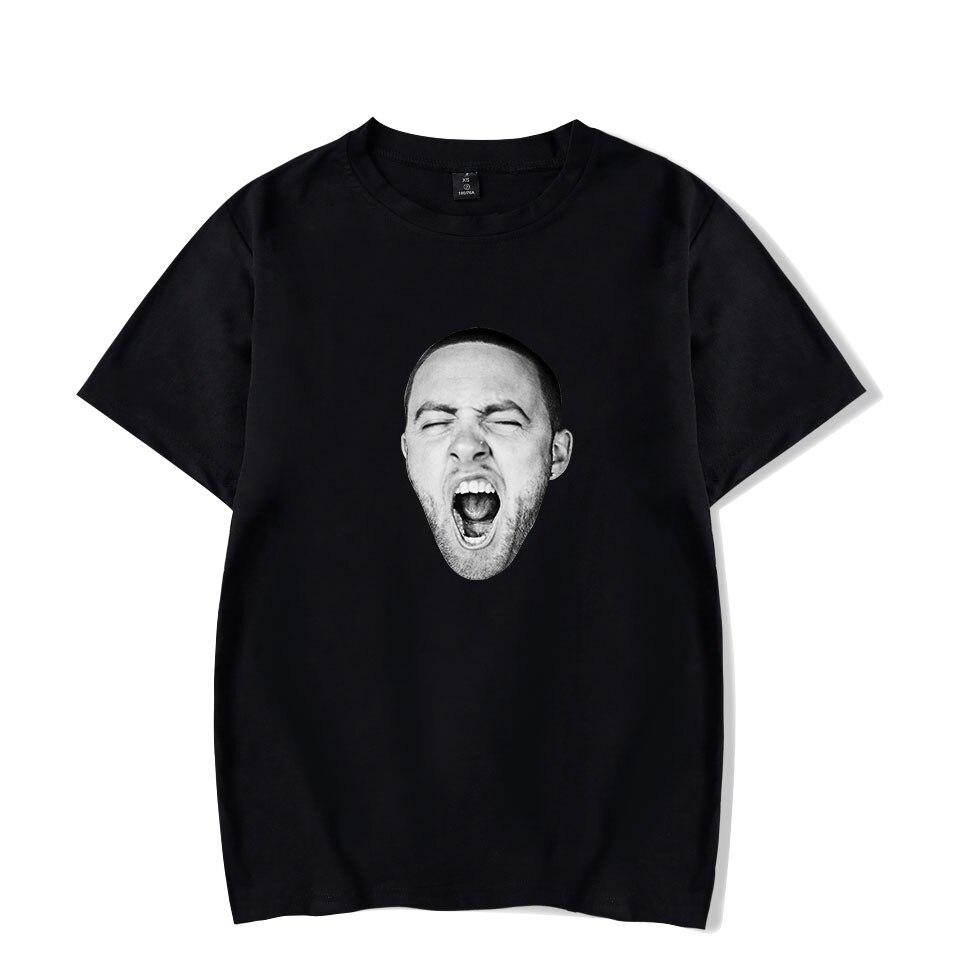 Funny Fashion MAC MILLER T-shirts Printed Men Women Hip Hop Sport T Shirts Casual Tops Tee Shirt Round Neck Short Sleeve T-shirt