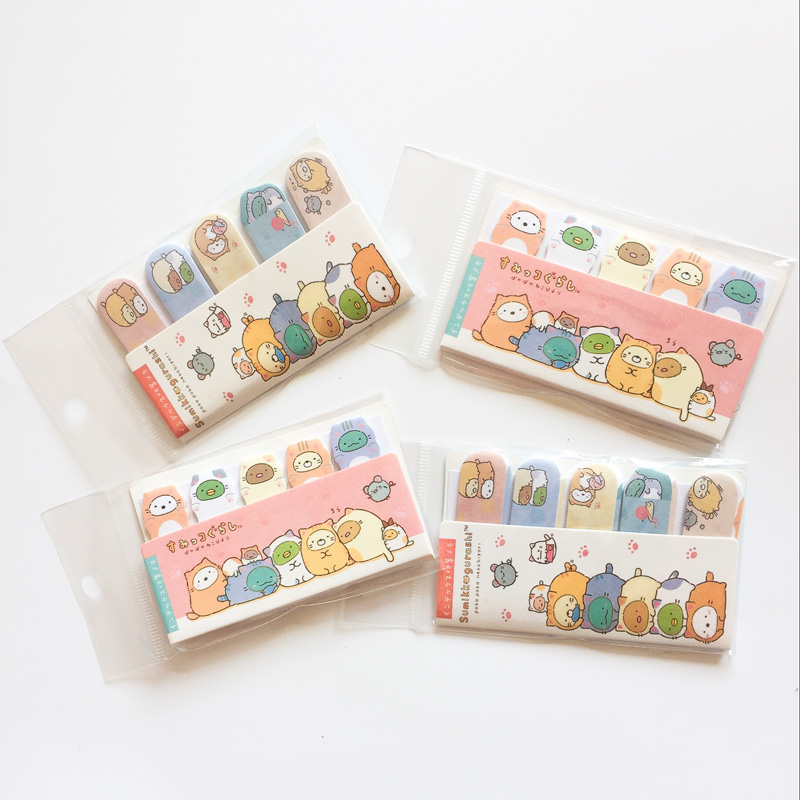 J57 75 Pages /Pack Cute Sushi Family Memo Pad Sticky Notes Student Stationery School Office Supply